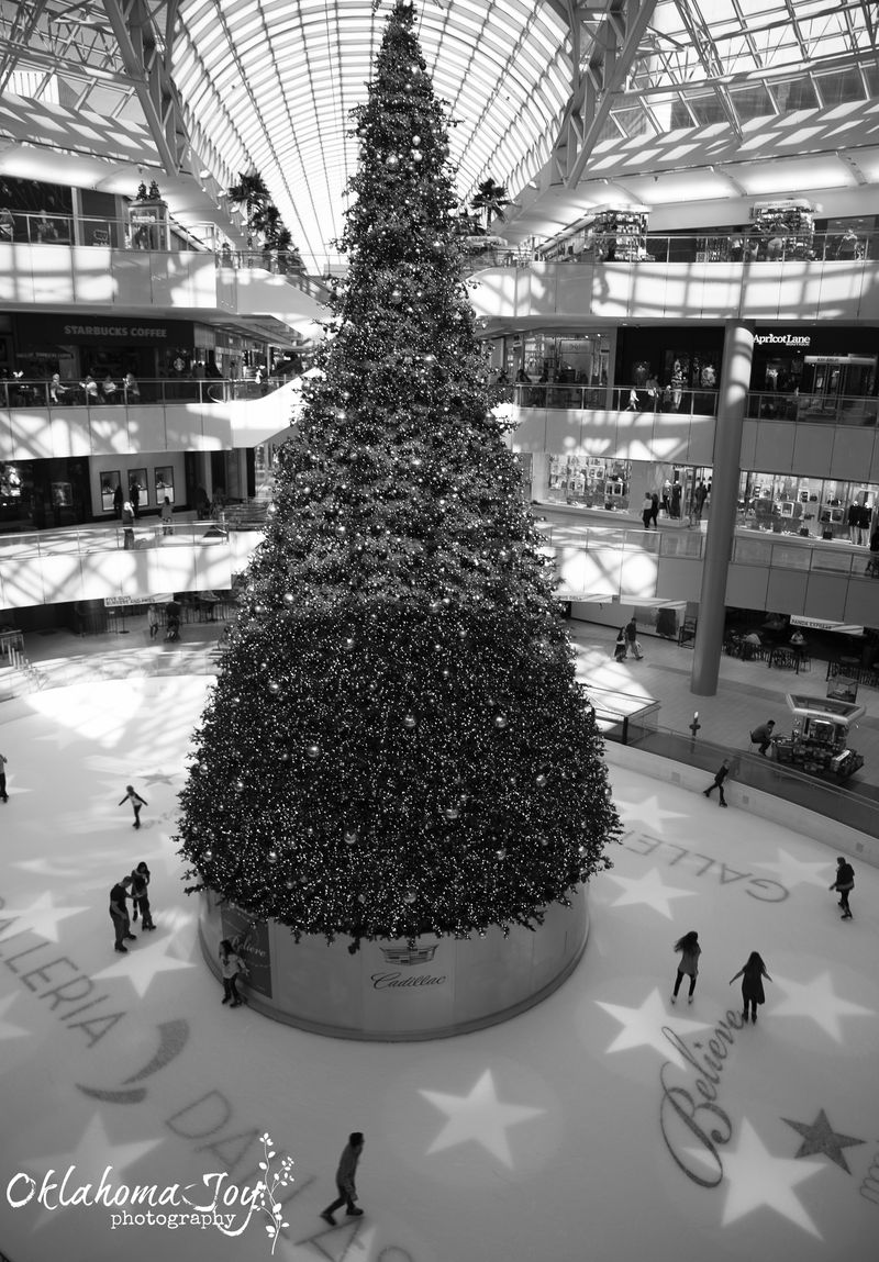 Dallas Galleria at Christmas -1