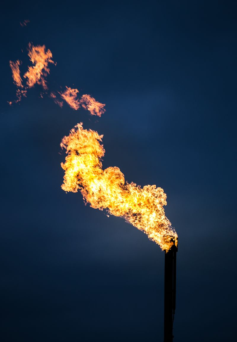Flaring the Well -1-3