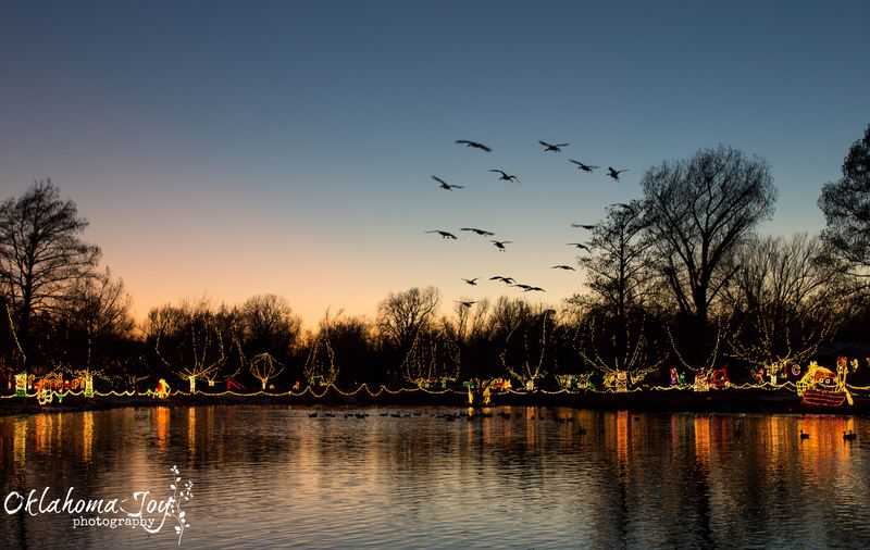 Festival of Lights in Chickasha-1