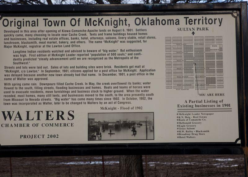 McKnight Oklahoma - Walters -1
