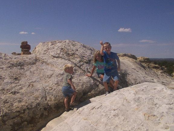 Grace Row and Justin at El Morro-1