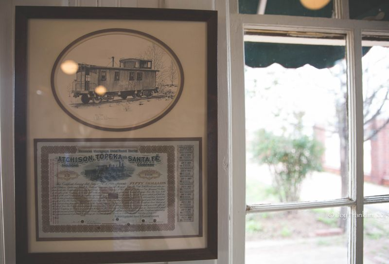 Pauls Valley Train Depot Museum -7808