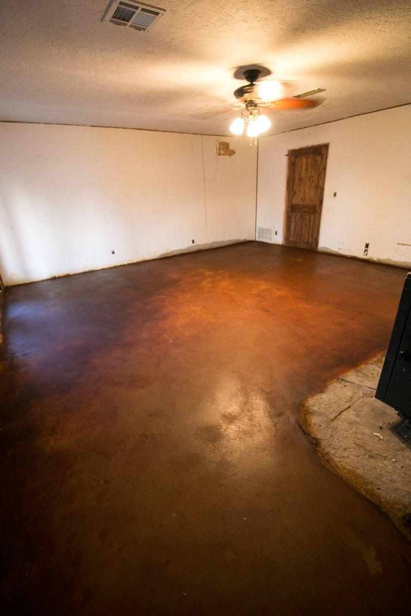 Family Room Floor -1-3