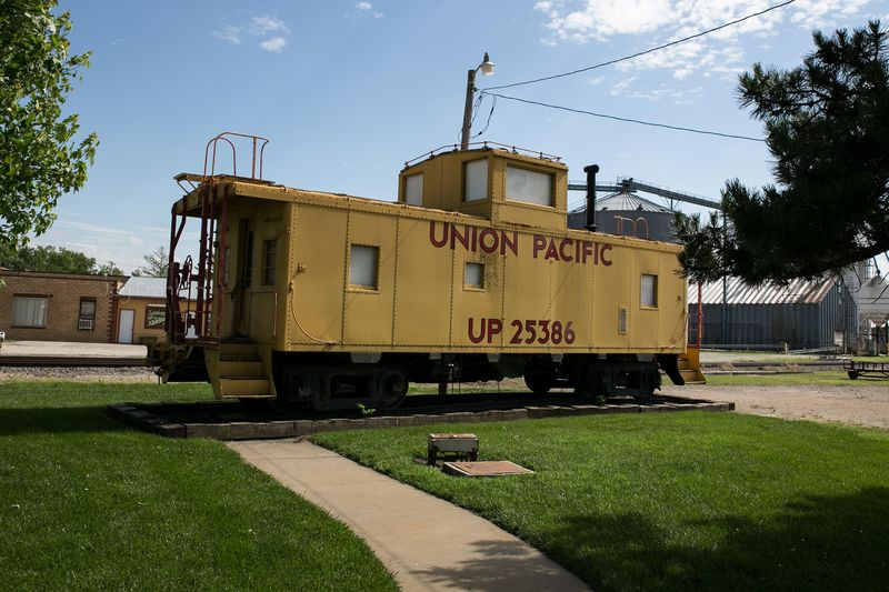 Wamego Kansas- Union Pacific in Park (1 of 1)