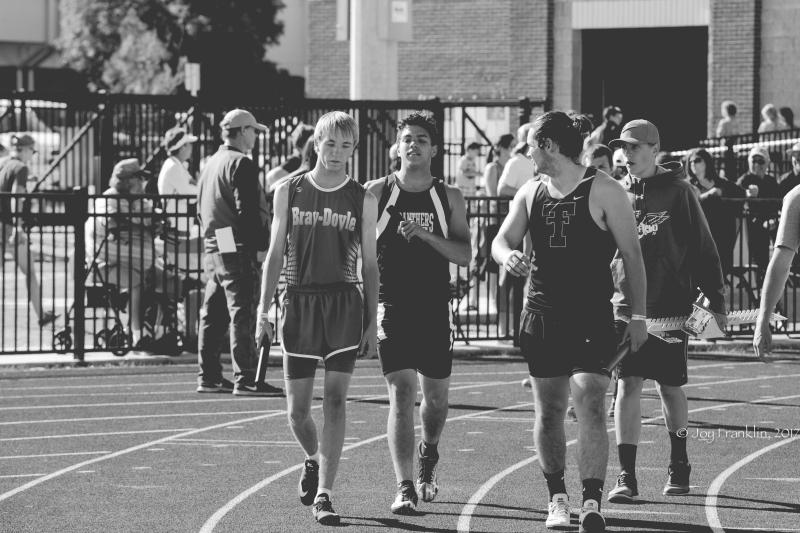 Justin Edmond Franklin State Track Saturday-1-4