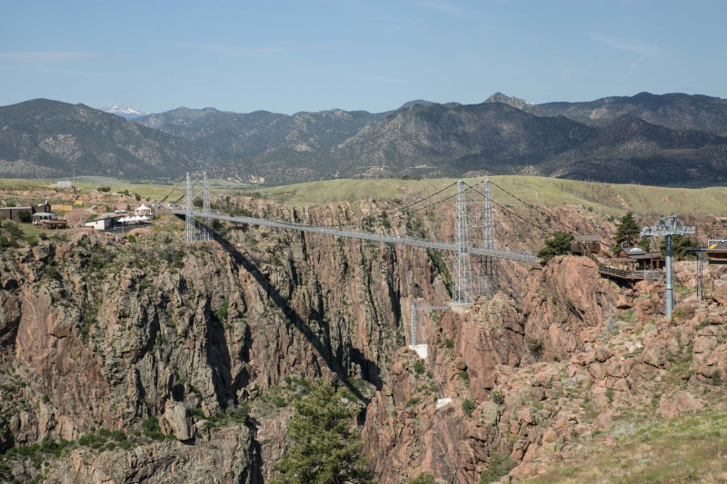 Royal Gorge Bridge- Colorado -1-2