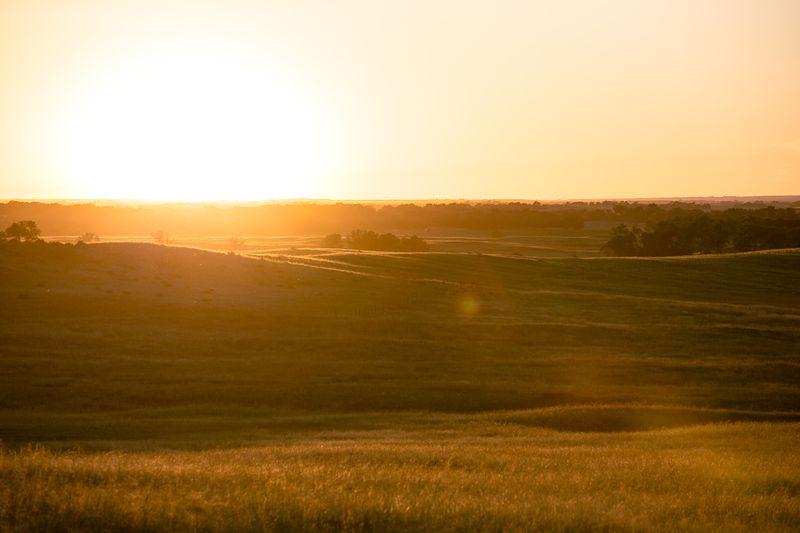 20140619-IMG_4413Sunset along the Niobrara River in Boyd County Nebraska_
