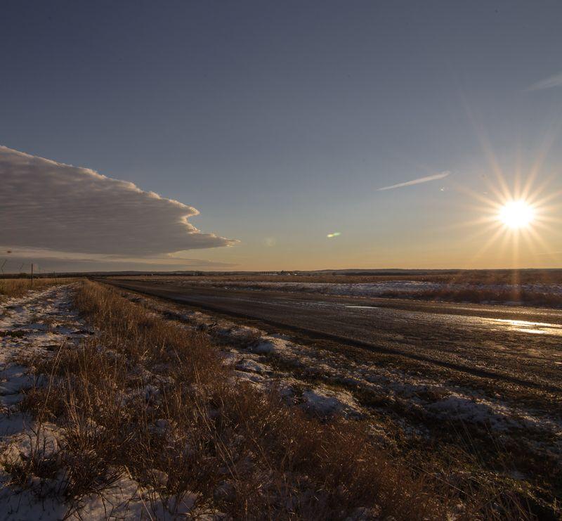 Beautiful Snowy Day in Oklahoma-1-2