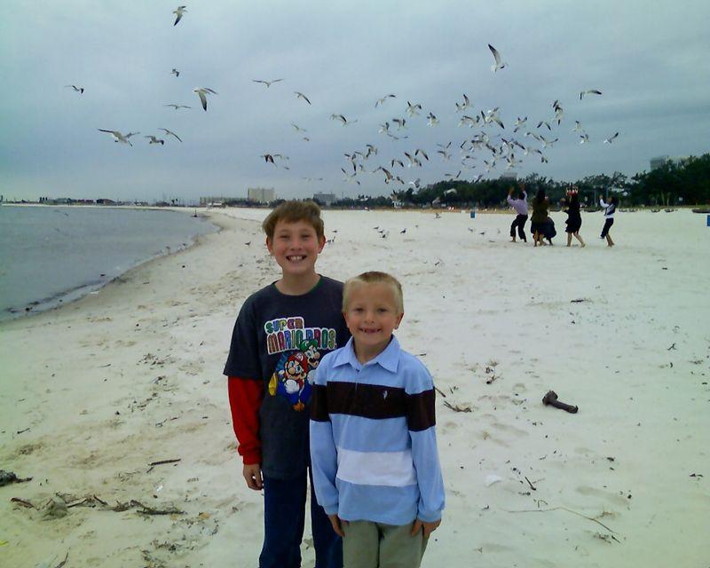 Justin Rowan on Biloxi beach -1