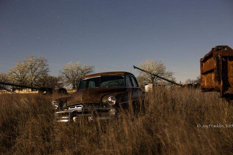 Shooting Stars -Old Dodge Car Joy Franklin 2015-1