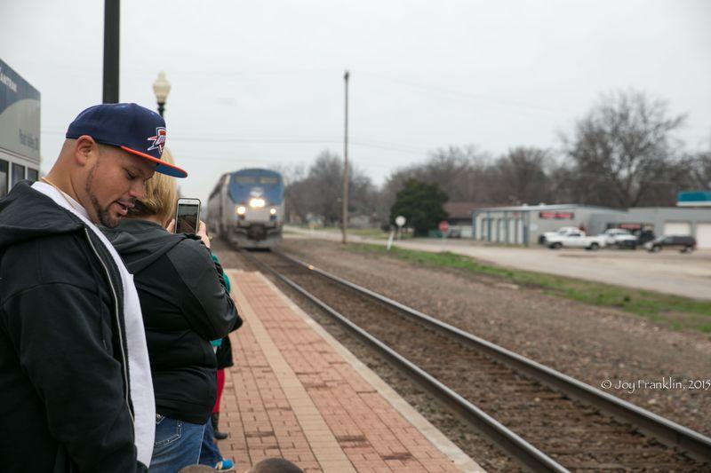 Heartland Flyer Amtrak at Pauls Valley Oklahoma by Joy Franklin-7820