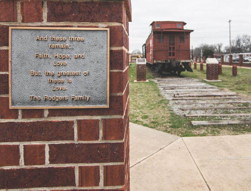 Pauls Valley Train Depot Museum -7973