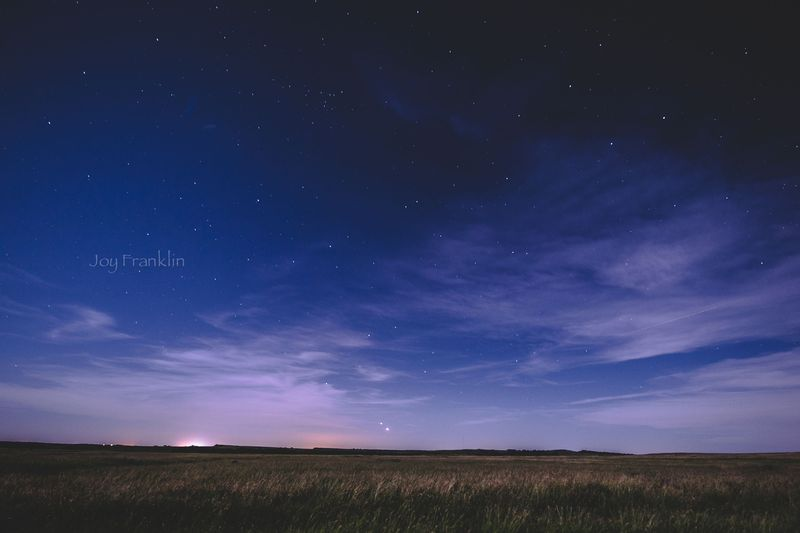 Venus and Jupiter -1