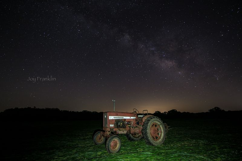 July Milky Way at the Farm -1