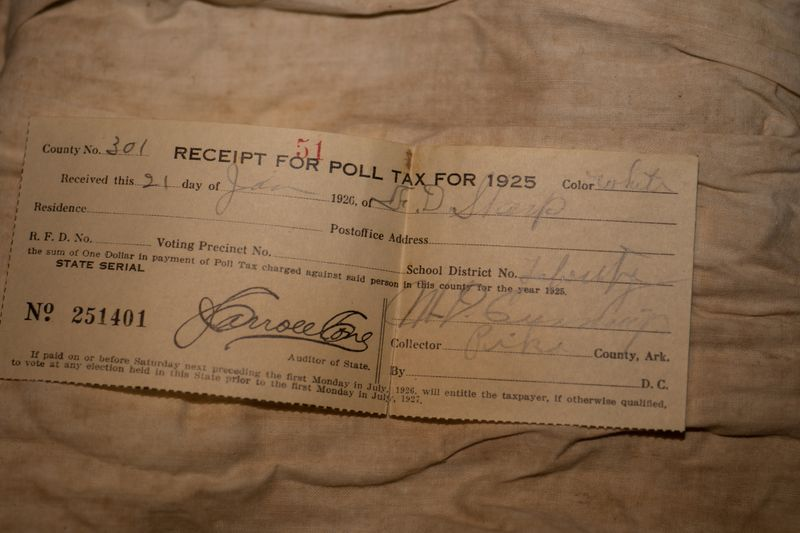Grandma's Trunk - Poll Tax -1