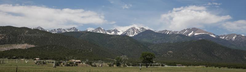 Driving Across Colorado -1
