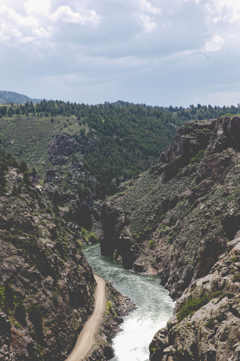 Black Canyon of the Gunnison -1
