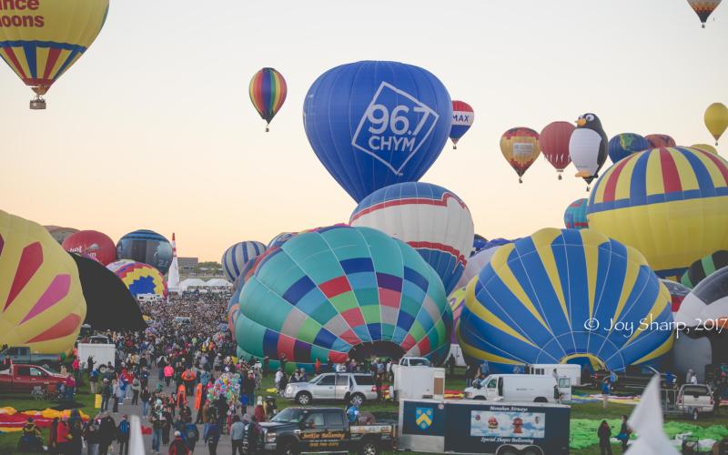 Balloon Fiesta New Mexico Albuquerque-1-18