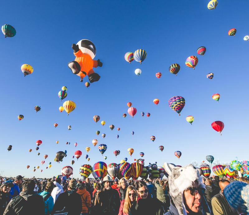 Balloon Fiesta New Mexico Albuquerque-1-20