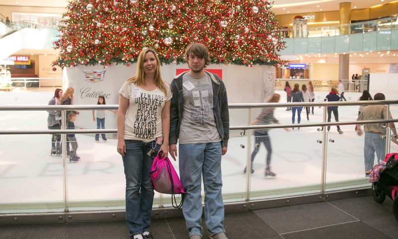 Dallas Galleria at Christmas -1-6