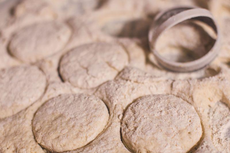 Sour Dough Biscuit Recipe-biscuit dough-1