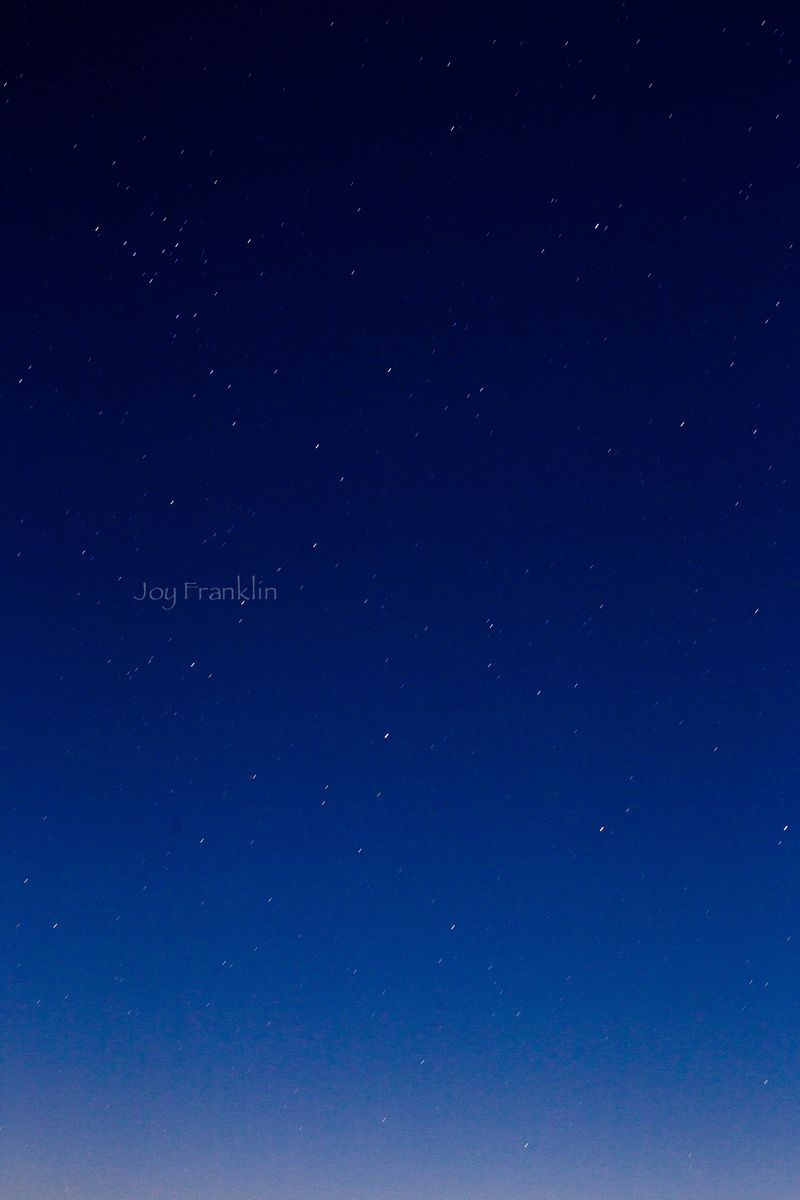 The stars and moon -1-7