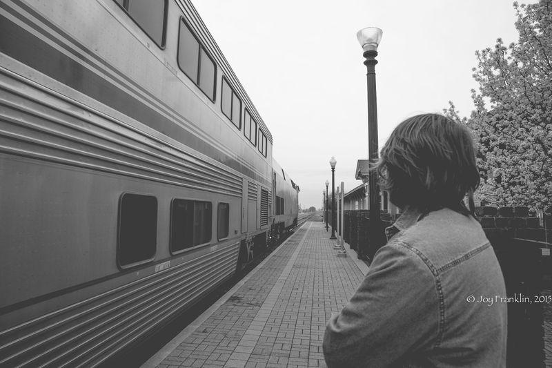 Heartland Flyer Amtrak at Pauls Valley Oklahoma by Joy Franklin-7829