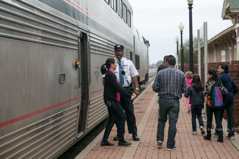 Heartland Flyer Amtrak at Pauls Valley Oklahoma by Joy Franklin-7834