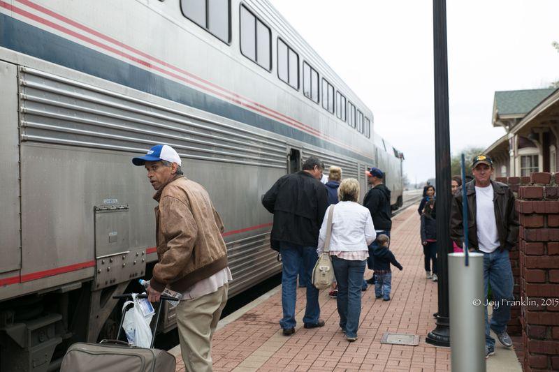 Heartland Flyer Amtrak at Pauls Valley Oklahoma by Joy Franklin-7838