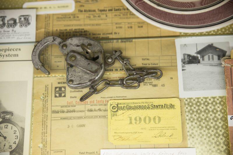 Pauls Valley Train Depot Museum -7865