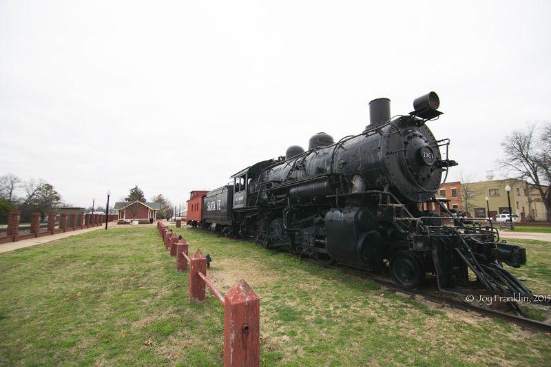 Pauls Valley Train Depot Museum -7976