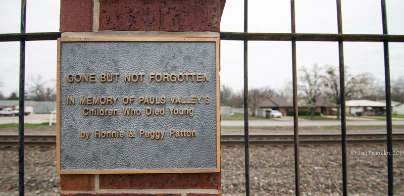 Pauls Valley Train Depot Museum -7977