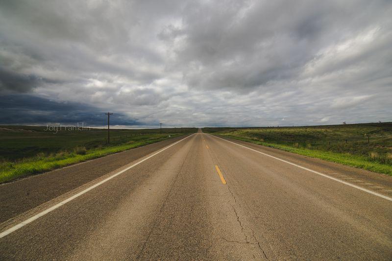 Long Road in Kansas-1