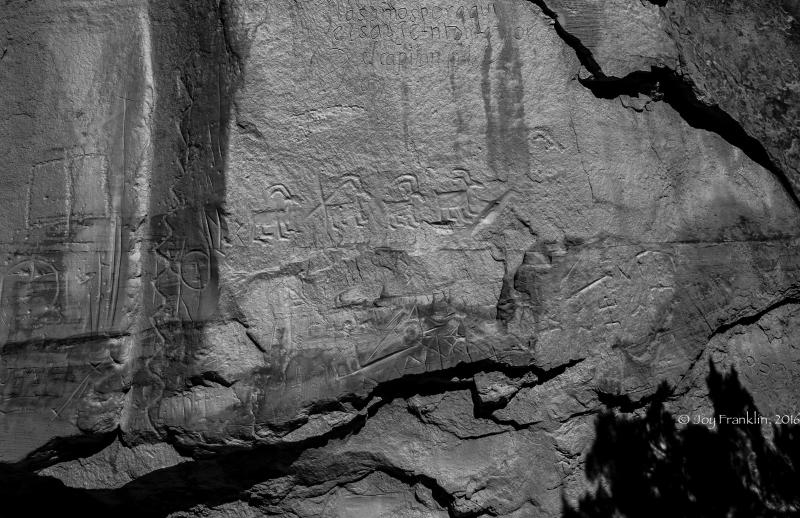 El Morro -New Mexico Petroglyphs -1-2