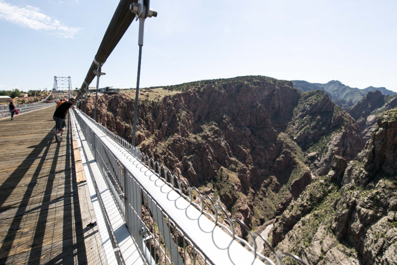 Royal Gorge Bridge- Colorado -1-12